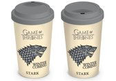 GAME OF THRONES - Travel Mug 450 ml - Stark House : P.Derive , ML