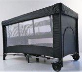 Kekk Campingbed De Luxe Zwart