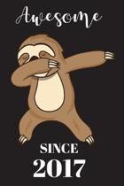 2th Birthday Dabbing Sloth