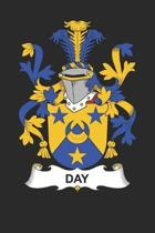 Day: Day Coat of Arms and Family Crest Notebook Journal (6 x 9 - 100 pages)