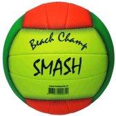 Hot sports Beach volleybal smash wit blauw geel