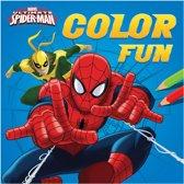 Marvel Kleurboek Ultimate Spider-man Color Fun 22 Cm
