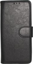 Samsung Galaxy S10 Plus Hoesje - Hoge Kwaliteit Portemonnee Book Case - Zwart