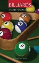 Billiards Weekly Planner 2017