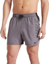 Nike Swim 5 Volley Short Heren Zwembroek - Black - Maat M