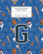 Primary Composition Notebook Grades K-2 Story Journal G