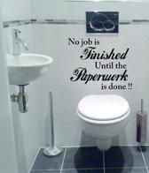 bol.com | muursticker wallstickershop.eu | tekst decoratie badkamer ...