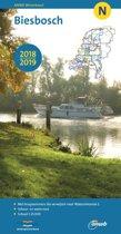 ANWB waterkaart N - Biesbosch 2018/2019