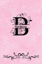 Split Letter Personalized Journal - Barbara