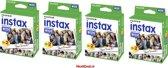 Fujifilm Instax Wide - 4 pack 10 x 2 - geschikt voor 80 foto's