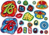 Confetti 18 jaar 300 gram - 18de verjaardag confetti