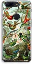 OnePlus 5T Transparant Hoesje (Soft) - Haeckel Trochilidae