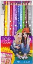 TOPModel 12 stuks kleurpotloden