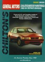General Motors Cavalier/Sunbird/Skyhawk/Firenza 1982-94