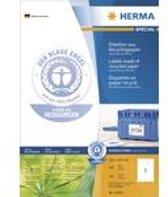 HERMA Etiketten A4 210x297 mm Der Blaue Engel 100 St.