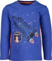 Blue Seven Jongens T-Shirt - Blauw - Maat 92