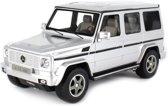 Rastar Rc Mercedes-benz G55 Amg Schaal 1:24 Zilver 18 Cm