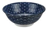 Tokyo Design Studio - Mixed Bowls Noodle Bowl Seikaiha 20.3x8cmh 1000ml