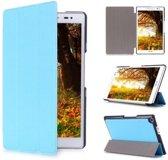 Asus ZenPad 8.0 (Z380) Tri-Fold Book Case Licht Blauw