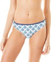 Cabana Life Bikinibroekje Dames Coastal Crush - Blauw - Maat 44 (XL)