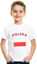 Polska t-shirt kinderen Xs (110-116)