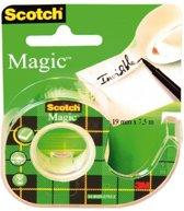 Scotch® Magic™ Tape, Navulbare Dispenser, 19 mm x 7,5 m