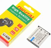 Camera Batterij Accu LI-40B LI-42B 1200mAh voor Olympus