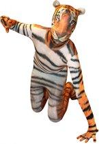 Morphsuits™ Tiger Morphsuit Kids - SecondSkin - Verkleedkleding - 91/104 cm