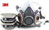 Gasmasker 3M beveiligings schilder masker 15 in 1 suit een geheel compleet systeem