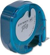 DYMO 12mm LetraTAG Plastic tape labelprinter-tape
