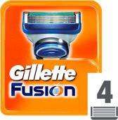 Gillette Fusion - 4 Stuks - Scheermesjes