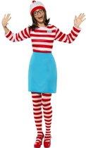 Waar is Wally kostuum / verkleedpak voor dames 40-42 (M)