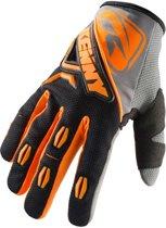 Kenny Handschoenen Titanium Black/Neon Orange-7