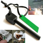 Survival Vuurstarter Set - Magnesium Firestick Vonkenmaker Vuursteen Stick - Magnesiumstick - Firestarter 2 Stuks