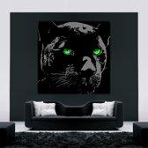 Black Panther Art on Plexiglass 80/80cm