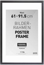 Wissellijst voor Posters 61x91,5 cm - Zwart - Hout - Romantisch