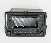 Radio Cd Speler Pasvorm voor volkswagen Seat leon BJ 2009+ met bluetooth aux usb