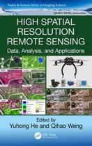 High Spatial Resolution Remote Sensing