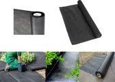 Kinzo Garden anti worteldoek/onkruiddoek - onkruidbestrijding/moestuin ondergrond doek