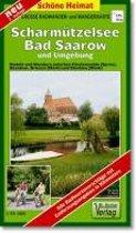 Radwander- und Wanderkarte Scharmützelsee, Bad Saarow und Umgebung 1 : 35 000
