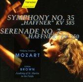 """Mozart: Symphony No. 35 """"Haffner""""; Serenade No. 7 """"Haffner"""""""