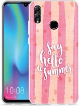 Huawei Honor 10 Lite Hoesje Say Hello to Summer