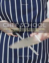 Boek cover Chef school van Joanna Farrow