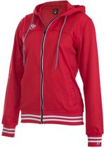 Brabo Wmns Tech Hooded Red Trainingsjas Vrouwen - Red