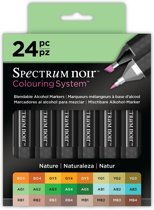 Spectrum noir 24 Stiften Set - Nature