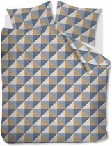 Beddinghouse Stairs - Flanel - Dekbedovertrek - Eenpersoons - 140x200/220 cm  cm - Gold