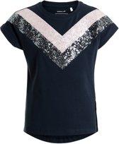 Name-it meisjes t shirt Kristbjorg Dark Sapphire