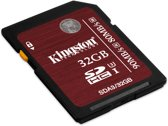 Kingston SDHC UHS-I U3 Card 32GB