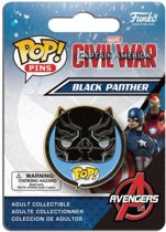 Funko Pop Pins! Captain America Civil War Black Panther