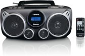 Lenco SCD-685 - Draagbare DAB+ Radio/CD-speler met Bluetooth en USB - Zwart